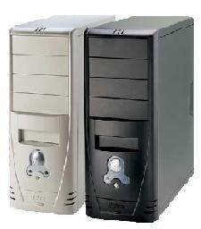 """Pulsar P4005 Beige P4 2.8Ghz 800FSB 128Mb 40Gb CDROM 17"""" CRT"""